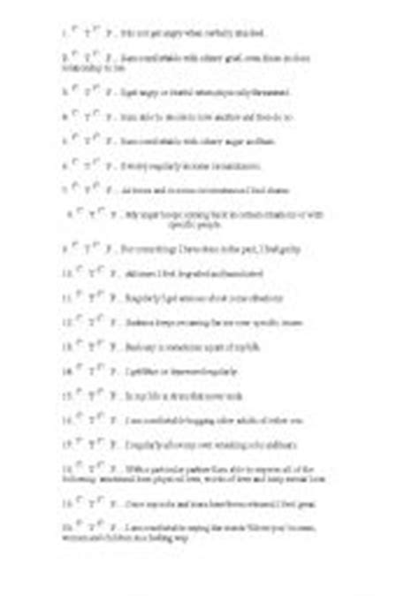 printable emotional intelligence quiz free english worksheet emotional intelligence test