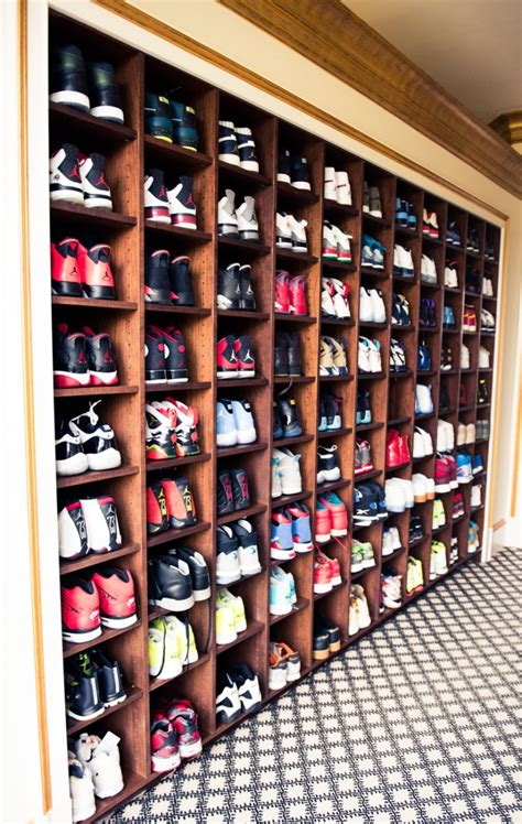 The Sneaker Closet by Go Inside Rick Ross Impressive Sneaker Closets Sole Collector