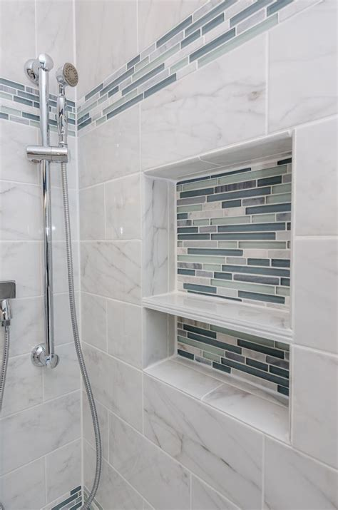 waterfall glass tile arleystone bliss linear in waterfall mosaic tile accents