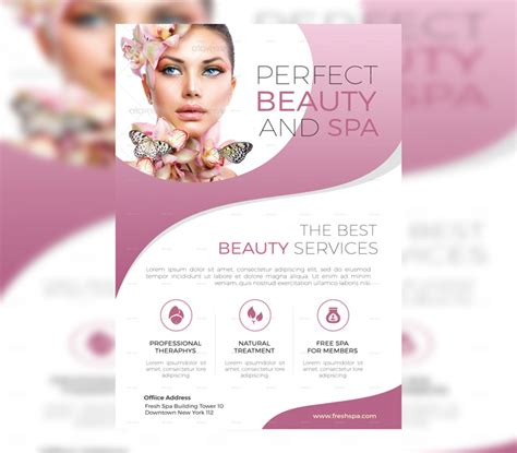 free salon flyer templates 17 spa flyer psd templates free premium designyep