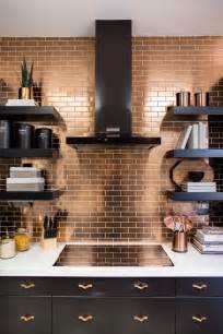 Copper Tile Backsplash For Kitchen Best 25 Copper Kitchen Ideas On Pinterest Copper Decor