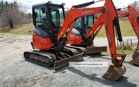 zero tail swing excavator 2014 kubota u25 zero tail swing mini excavator