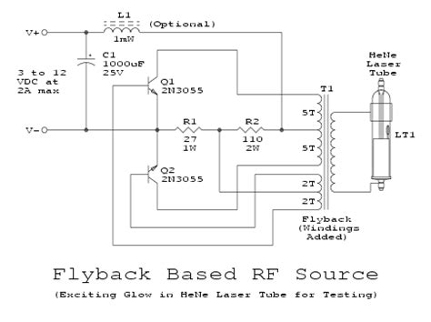 flyback transformer without diode 2n3773 inverter circuit circuit diagram images