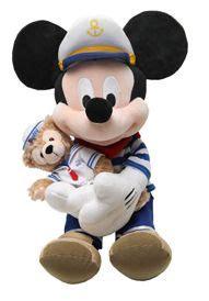 Jesica Mickey Navy mickey with duffy duffy