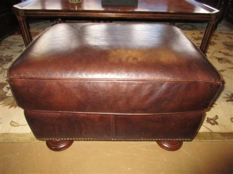 thomasville leather chair and ottoman thomasville leather chair ottoman at the missing piece