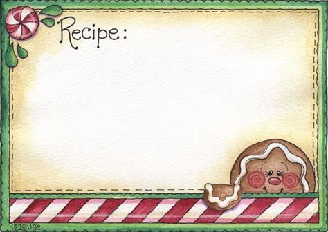 Gingerbread Card Template by 78 Images About Gingerbread Recipe Cards On