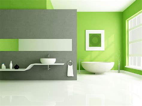 lime green and grey bathroom lime green accents wall paint for modern bathroom idea