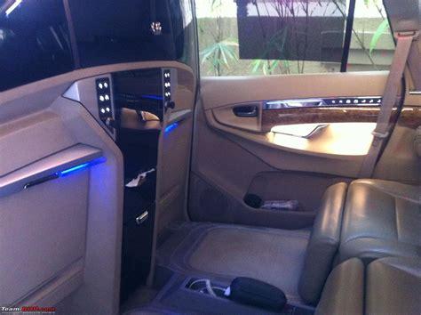 Innova Interior Accessories by Dc Lounge Toyota Innova Ultimate Luxury Team Bhp