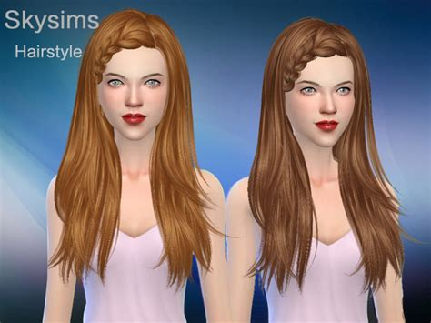 hair 217 by skysims sims 3 downloads cc caboodle hair 127 by skysims at tsr 187 sims 4 updates