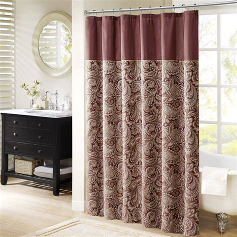 bathroom shower curtains shower curtains walmart