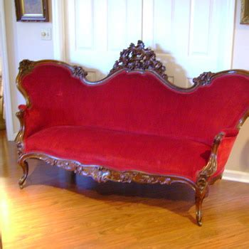Sofa Agram show tell antique furniture collectors weekly