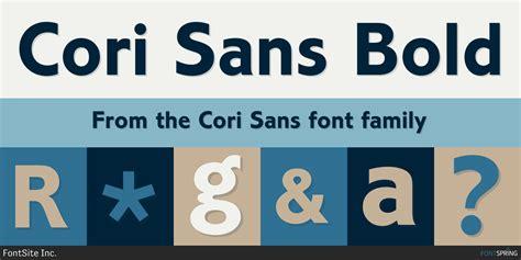 fontspring cori sans fonts  fontsite
