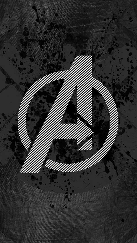 avengers logo wallpaper  iphone
