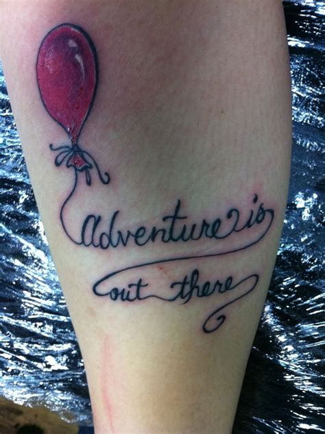 high class tattoo fuckyeahtattoos adventure is out there from the