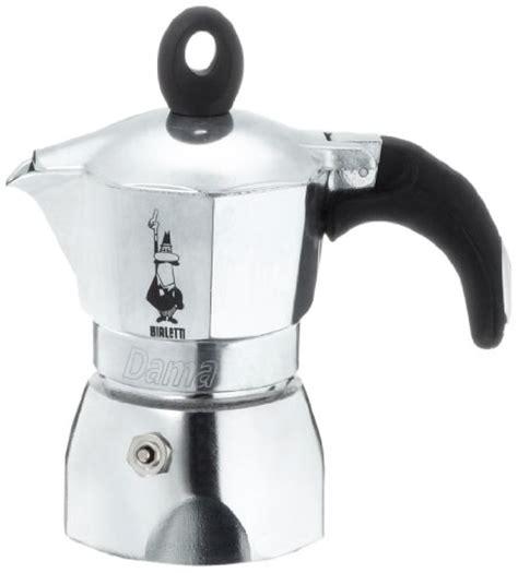 Bialetti Dama 1 Cup bialetti dama 1 cup stovetop espresso moka pots all