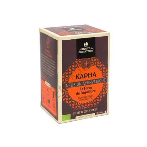 La Route Des Comptoirs by Kapha Infusion Ayurv 233 Dique Bio La Route Des Comptoirs 100gr