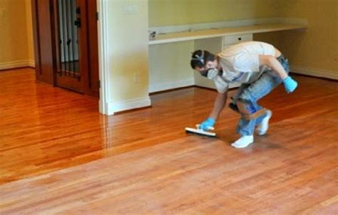 refinishing hardwood floors without sanding solid