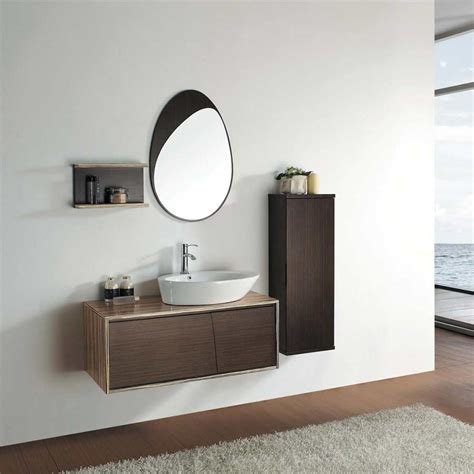 modern wood bathroom vanity modern bathroom vanity set solid wood vessel sink vm