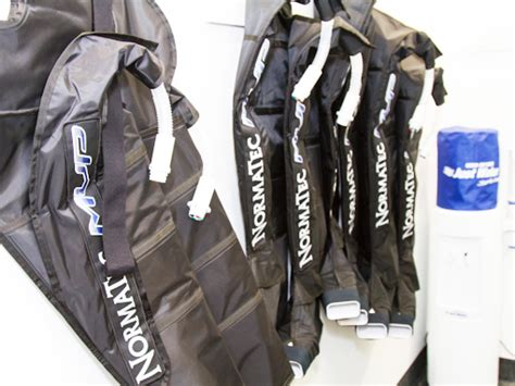 normatec boots facilities recovery lounge