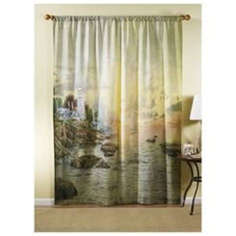 thomas kinkade curtains thomas kinkade sea of tranquility 169 art curtains shop