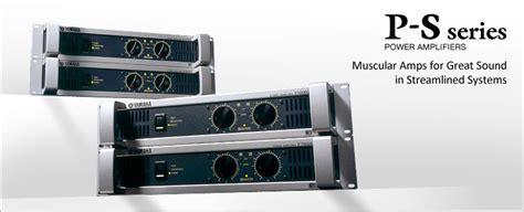 Power Lifier Yamaha Xp 7000 p s series etapas de potencia productos yamaha