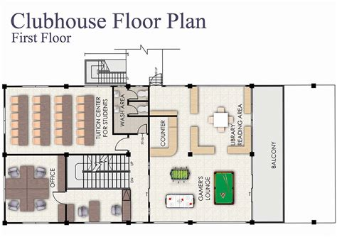 clubhouse floor plans timbok jaya apartment
