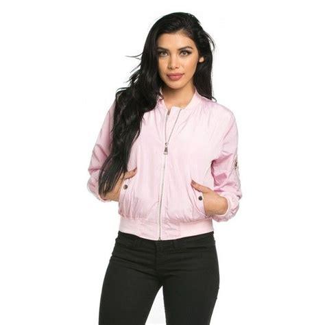 Jaket Zipper Hoodie Sweater One Direction Abu 5 lightweight bomber jacket in pastel pink 40