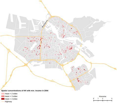 crossing boundaries mapping spatial dynamics of urban