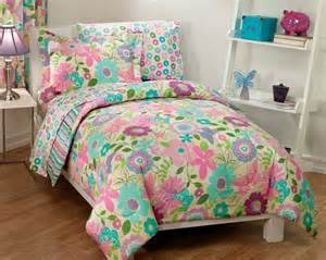 pink and aqua bedding new girls daisy flower butterfly pink aqua bedding comforter sheet set twin daisy