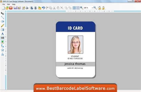 id card template free free photoshop id cards templates