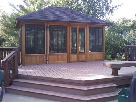Gazebo design ideas by archadeck st louis decks screened porches