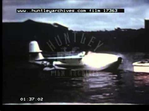 flying boat jet fighter jet fighter flying boat 1950 s film 17363 youtube