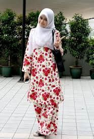 Dress Tunic Batik Asli clothing malaysian tradisional clothings