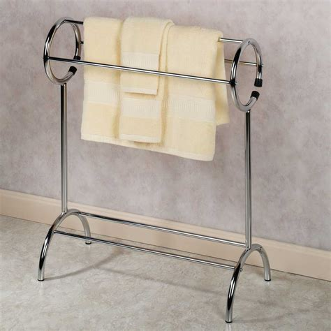 bathroom towel racks free standing bathroom free standing towel rack with yellow towel free
