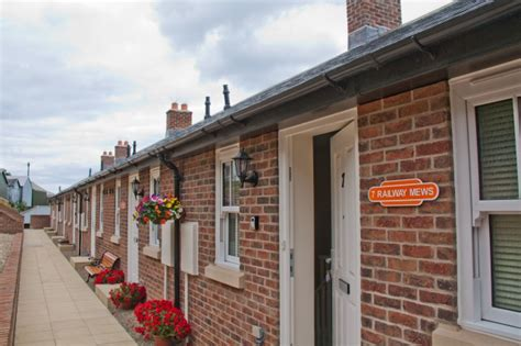 Railway Cottages Whitby by Whitby Railway Cottages Gallery