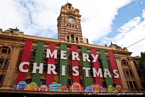 winter decorations melbourne decorations in melbourne day walk the nomadic explorers australian travel