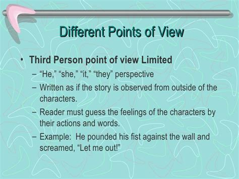 Descriptive Essay Written In Third Person by Writing An Essay In Third Person Narrative