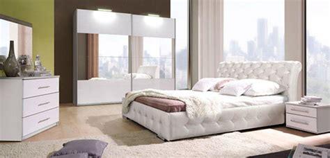 une chambre à coucher lit chester chambre a coucher blanchel 160 x h 92 x p 226
