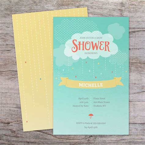 Vistaprint Baby Shower Invitations by Baby Shower Invitation Vistaprint Baby Shower