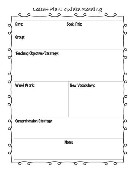 best 25 preschool lesson template ideas on pinterest preschool