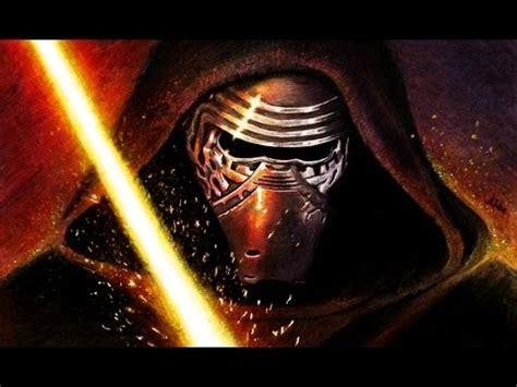 star wars the force 0241201160 star wars звёздные войны drawing kylo ren рисую кайло рена youtube