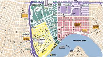 New Orleans French Quarter Tourist Map by Our Best Bites Travel New Orleans Weekend Our Best Bites
