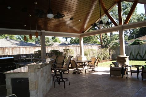 Rustic Patio Covers by Patio Cover In Houston Rustic Patio Houston By