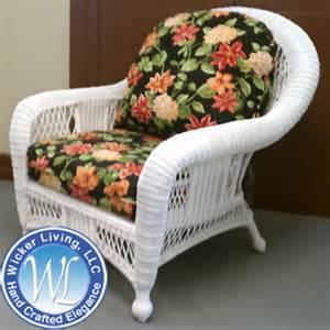 wicker chair with cushion seating outdoor chair replacement cushion set