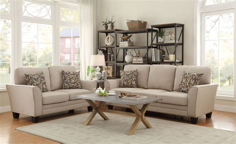 Beige Living Room Set Adair Beige Living Room Set From Homelegance 8413be 3 Coleman Furniture