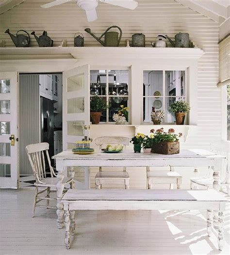 back porch ideas casual cottage back porch 3 season room dreaming pinterest chang