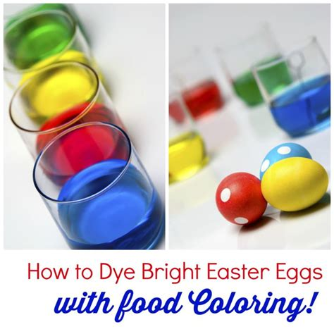 easter egg dye with food coloring how to dye bright easter eggs with food coloring ebay