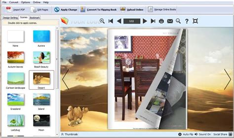 book maker stylish and free templates of flip book maker