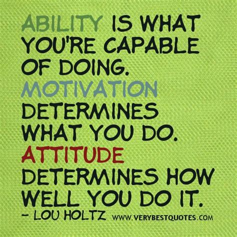 Positive Motivational Quotes | Attitude quotes ...