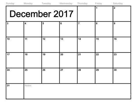 printable monthly calendar for december 2017 december 2017 calendar monthly calendar template letter